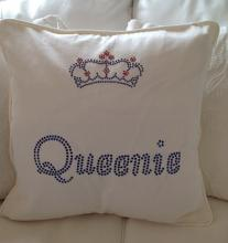 Bling Name Personalised Cotton Cushion and Cover